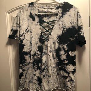 Affliction tie-dye t-shirt